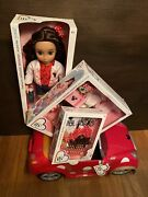 New 2021 Ily 4ever Disney Minnie Mouse 18 Doll Travel Set Lot Red Convertible
