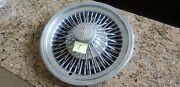 1972 Olds Cutlass Set Of Four 14 Wire Spoke Hub Cap Original [fits Other Years]