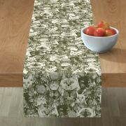 Table Runner Christmas Cats Oriental Holly Kittens Mittens Scrummy Cotton Sateen