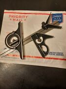 Starrett Protractor 12 Rule Combination Square Set With Center Finder.