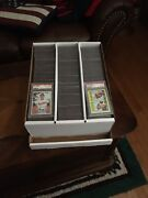 10 Graded Sports Card Storage Boxes - Best Product Great Price Freight Ppd