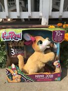 New In Box Furreal Mama Josie The Kangaroo And 3 Babies W/sounds/reaction Kids Toy