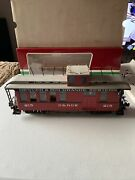 Lgb 4075 G Denver And Rio Grande Western Deluxe Drovers Caboose - Lighted Boxed
