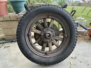 Dodge Brothers Wood Spoke Wheel Circa Late 1920andrsquos Early 1930andrsquos