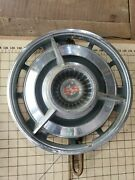 Vintage Chevy Impala Ss Spinner Hubcap Oem 14 Spinner Wheel Cover