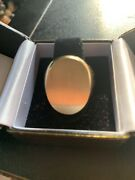 14k Yellow Gold Mens Estate Signet Ring W/appraisal One Owner Very Large.