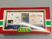 G Scale, Lgb Circus Box Car 4036 Complete With Box.