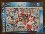 Ravensburger Puzzle 1000 Pcs Christmas Is Coming 2020 Limited Edition New