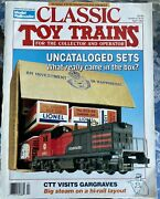 Classic Toy Trains April 1992 Issue Uncataloged Sets Beer Reefers