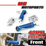 Cnc M-pro 40mm Extended Rider Foot Pegs For Bmw F800r 09-15 14 13 12 11 10