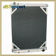 2 Rows 52mm Core Radiator For 2008-2014 Volvo Vnl Vnm Trucks And Mack Visionand039s