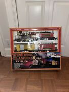 Vtg 1992 Train Set Western Classic Express By Toy State Industrial, New In Box