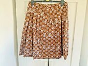 Marks And Spencer Size 14 Skirt Flared Midi Long Summer Ladies Floaty Bold