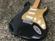 All Stores Used At Once Fender Usa American Deluxe Stratocaster Bk Secondhand