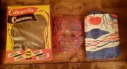 1960's The Visible Man Original Collegeville Halloween Costume In The Box-nice