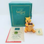 Wdcc Winnie The Pooh Time For Something Sweet 1996 Membership Sculpture Coa/box