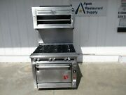Wolf Nat. Gas 6 Burners Stove Oven And Salamander New Parts 5777