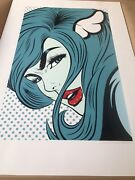 Dface Dface Turn Coat Signed Numbered Screenprint Sold Out Stored Flat Banksy