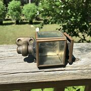 Antique 19th C. Carriage Coach Buggy Auto Small Lamp Light