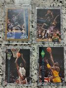 1992-93 Shaquille Oneal 4 Card Lot Rookie Stadium Club, Fleer And Classic Draft