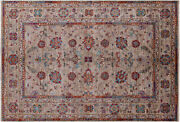 5and039 7 X 8and039 1 Traditional Hand Knotted Wool Rug - Q10581