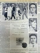 1932 Ny Times Newspaper The Massie Murder Case Exposes Race Conflict In Hawaii