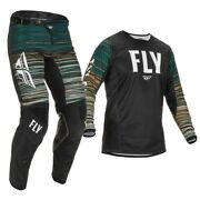 Fly Racing Kinetic Wave Jersey Pant Combo Black/rum