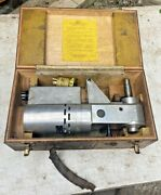 Holdridge Radii Cutter Power Unit For 8-d And 12-d Metal Lathe Attachments