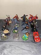 Lot Of 16 Mixed Disney Infinity Figures Plus Portal And Ps3 Infinity Game