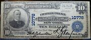 10. 1902 Chatham Phenix National Bank Of The City. New York Charter 10778