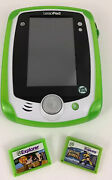 Leap Frog Leap Pad Learning System Video Game Phineas Ferb Wolverine Games Lot