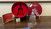 Waterford Crystal 12 Days Of Christmas Bell 10 Lords Leaping Ornament