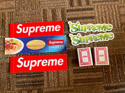 Supreme Fw21 Free Gift 5 Stickers With Bicycle Playing Cards Ships Out Asap X2