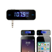 Wireless 3.5mm Fm Transmitter For Ipod For Iphone For Car Aux Mp3 Mp4 Universal