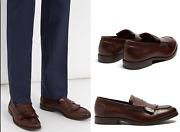 Brunello Cucinelli Frangandeacute Gland Loafers Chaussures Brogues Monk-strap Neuf 41