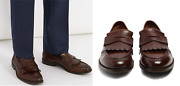Brunello Cucinelli Frangandeacute Gland Loafers Chaussures Brogues Monk-strap Neuf 43