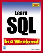 Learn Sql In A Weekend Paperback Kevin Thompson