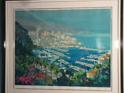 Kelly Harlem View Of Yacht Harbor From The Mountains Size 50