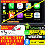 04-16 Ford F And E Series Carplay Android Auto Bluetooth Hdmi Car Stereo Opt. Xm