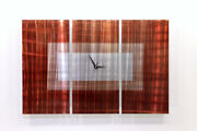 Copper Sequence Wall Clock Interior Nordicart Iron Watches Modern Wall-mounted