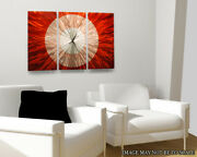Redshift Clock Wall Designer Art Watches Wall-mounted Painting American Modern