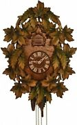 Cuckoo Clock Interior Wall Overseas Models America 8-day Traditional With Green