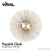 Vitra Popsicle Clock Wall Design George Nelson