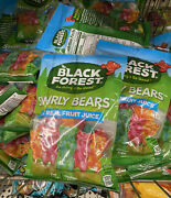 Lot Of 3 Bags New Sealed Black Forest Swirly Gummy Bears Candy 4 Oz