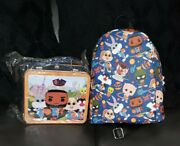 Looney Tunes Space Jam Legacy Tune Squad Funko Backpack Lunch Box Lebron James