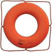 Cal-june 30 Orange Ring Buoy With O Strap Go-x-30
