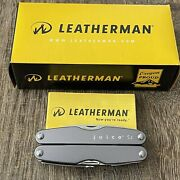 New Early Classic Leatherman Juice S2 Storm Gray Multitool With Smooth Handles
