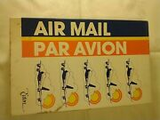 Nos Vintage Air Mail Stationary Set By Eaton With Pen Stationary And Envelopes