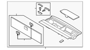 Genuine Ford Floor Cover Jl7z-40310b16-be