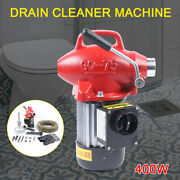 20-100mm Electric Power Machine Auger Cable Drain Clog Cleaner Snake Pipe Sewer
